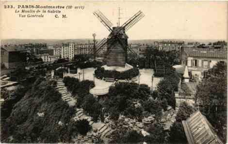 CPA-Paris-18e-Montmartre-Le-Moulin-de-la