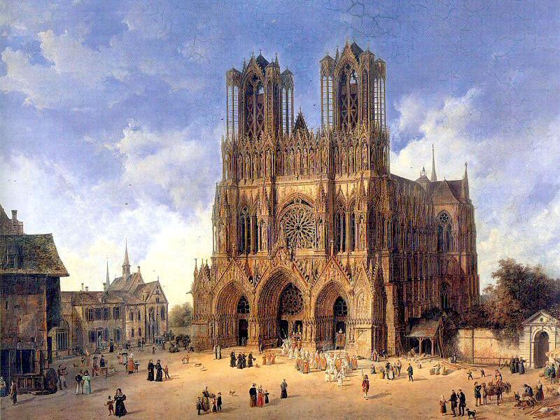 CATHÉDRALES DE FRANCE : de la période principale d'édification (1180-1240) à nos jours