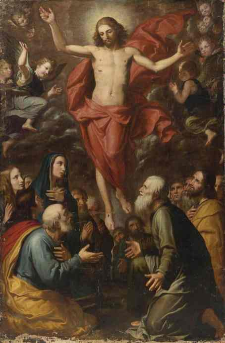 The_Ascension_by_Giovanni_Bernardino_Azzolino