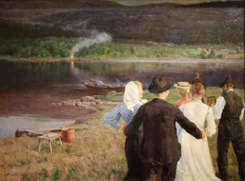 Midsummer_night_Gudmund_Stenersen