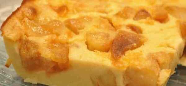 flan alsacien aux pommes