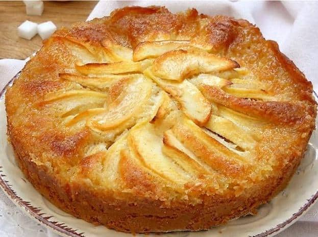 gâteau aux pommes 5, 4, 3, 2 ,1
