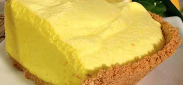 tarte nuage citron