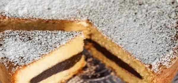gâteau nature coeur chocolat