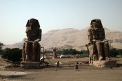 Colossi of Memnon, Luxor, Egypt