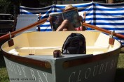 Boat and sun lounger at Cloudy Bay Crab Shack with Skye Gyngell