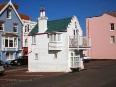Car park house in Aldeburgh, Suffolk