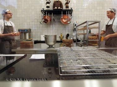 Chocolate kitchen, Antwerp, Belgium