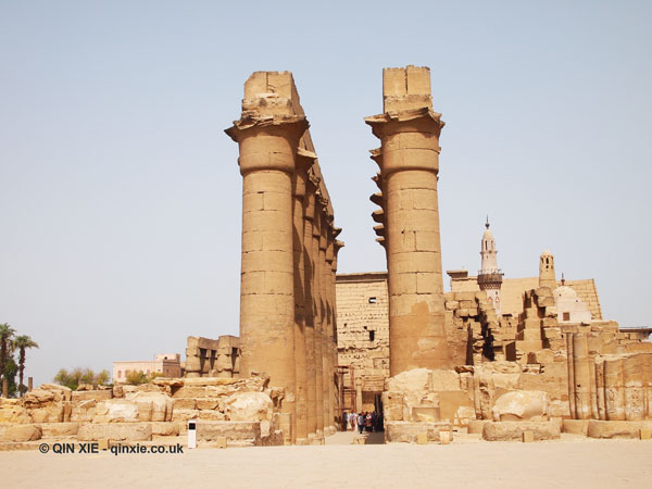 Avenue of the Sphinx and Luxor Temple, Luxor