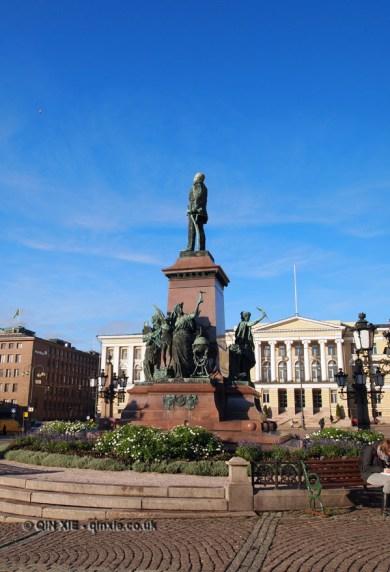 Emperor Alexander II statue, Helsinki, Finland