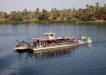 Ferry, Cruise on the Nile
