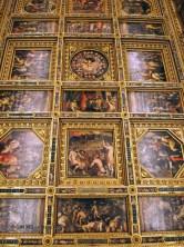 Frescoes inside the Palazzo Vecchio, Florence, Italy