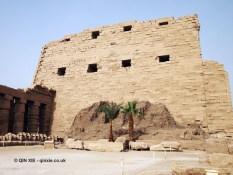 Main gate from back, Karnak Temple, Luxor