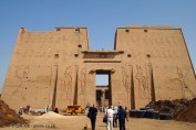 Gate, Temple of Horus, Edfu
