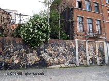 Grafitti, Antwerp, Belgium