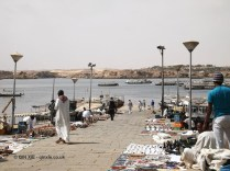 Harbourside market, Philae Temple, Lake Nasser