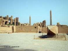 Lying obelisk, Karnak Temple, Luxor