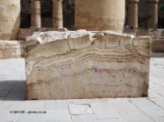 Marble rest, Karnak Temple, Luxor
