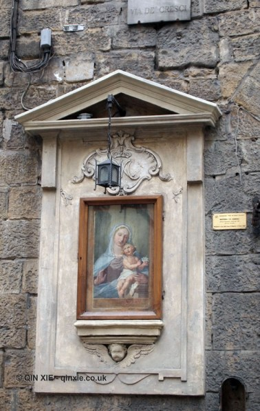 Outdoor painting, Florence, Italy