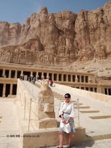 Qin Xie, Mortuary Temple of Hatshepsut, Luxor