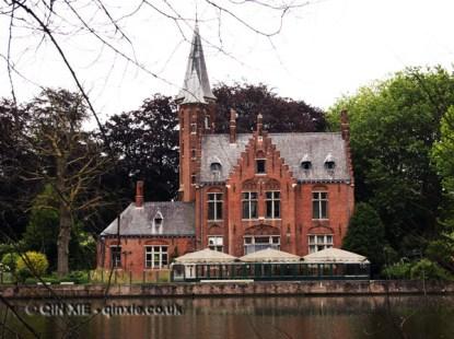 Riverside house, Bruges, Belgium