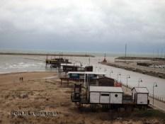 Trabocchi fishing huts, Pescara, Abruzzo
