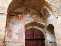 Murals, San Gimignano, Italy
