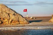 Chott El Jerid salt flats, Tunisia