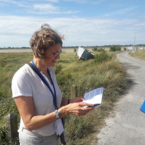 Chantal Le Coutour, médiatrice au PAHC