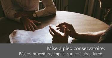 procedure-mise-a-pied-conservatoire-duree-impact-salaire