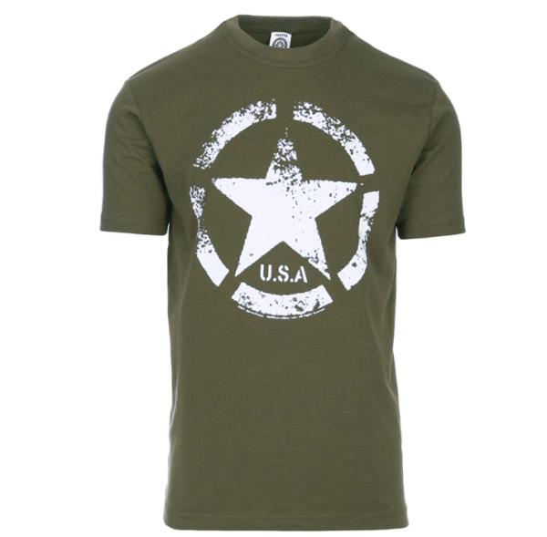 tee shirt militaire design usa
