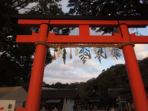 P1071958 2013年初詣は上賀茂神社へ。