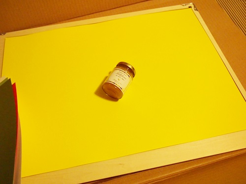 P3284580 画板と色画用紙24色セットを何に使うのか?
