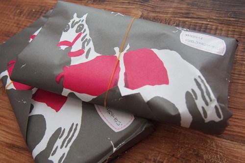 神馬堂のやきもち 包装紙