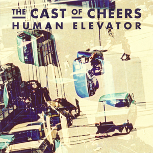 The Cast of Cheers Human Elevator