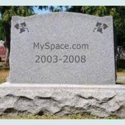 myspace tombstone