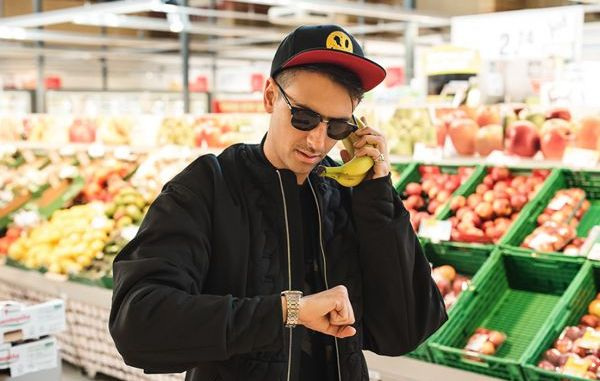 Boys Noize grocery store promo picture