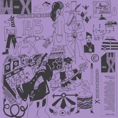 W-X self-titled album cover