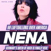 Nena tour poster