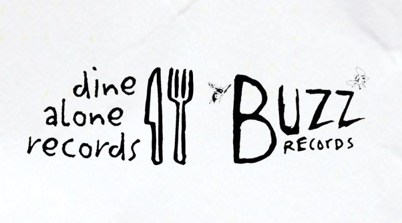 Dine Alone Buzz Records combo logo