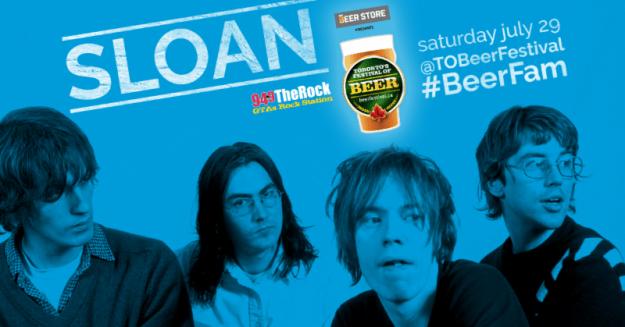 Toronto's Festival of Beer (TFOB 2017) flyer Sloan