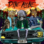Dine Alone Records tour poster