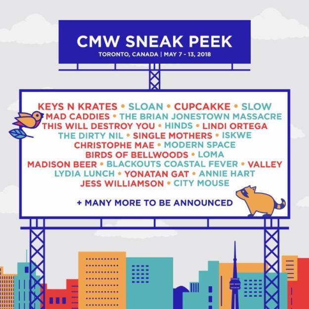 CMW 2018 sneak peek