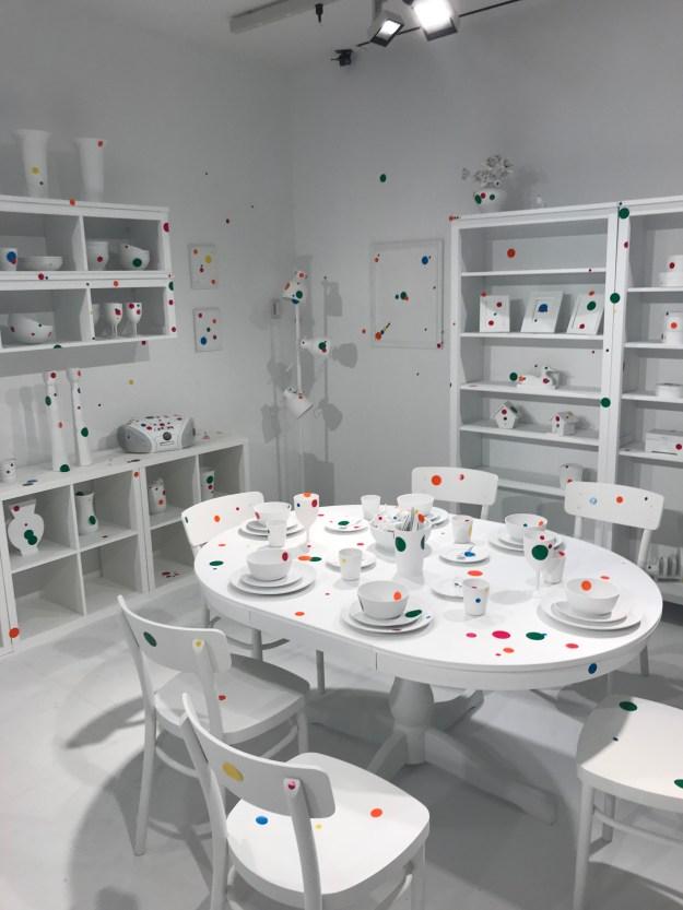 Yayoi Kusama Obliteration Room AGO