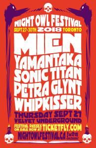 MIEN, Yamantaka//Sonic Titan, Petra Glynt, Whip Kisser @ Velvet Underground