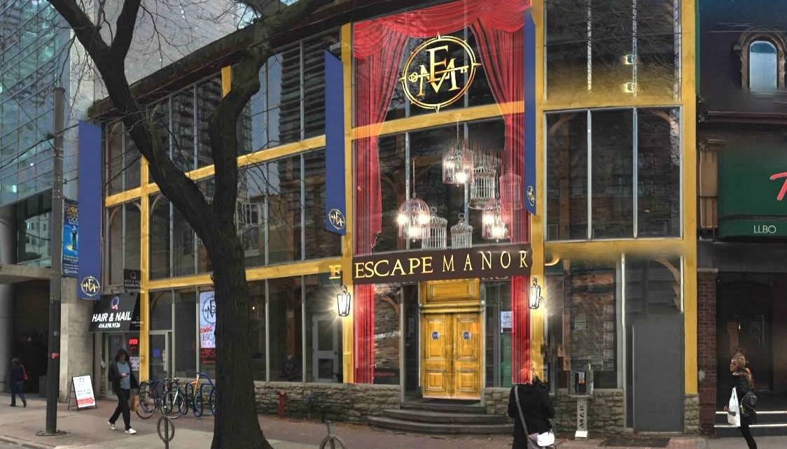 Escape Manor storefront