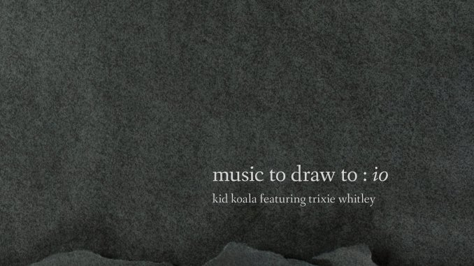 Kid Koala Music To Draws To io cover