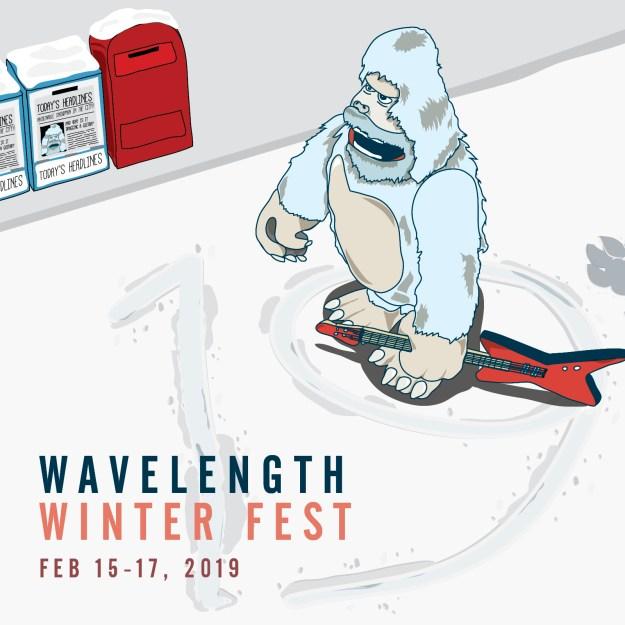 Wavelength Winter Fest 19 poster