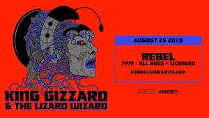 King Gizzard and the Lizard Wizard @ Rebel