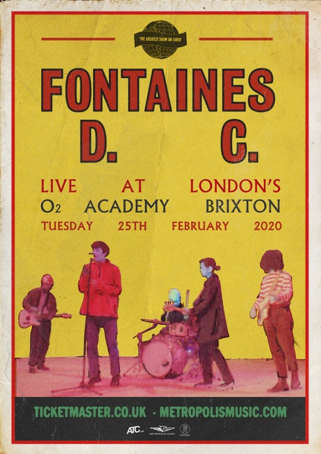 Fontaine's D.C. O2 flyer
